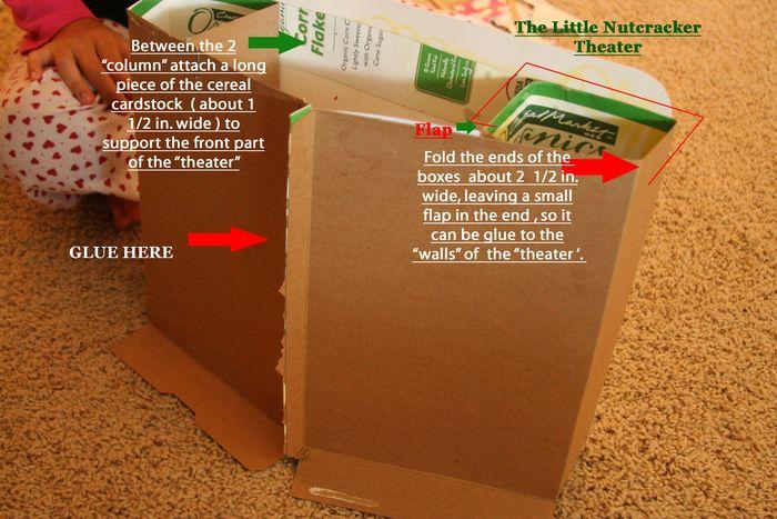 The Little Nutcracker theater instruc.